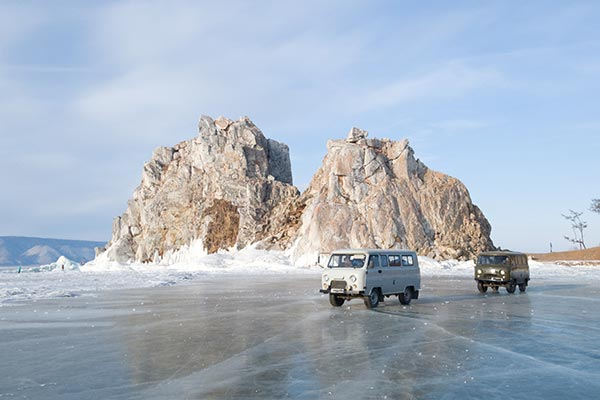 Trucks On Ice