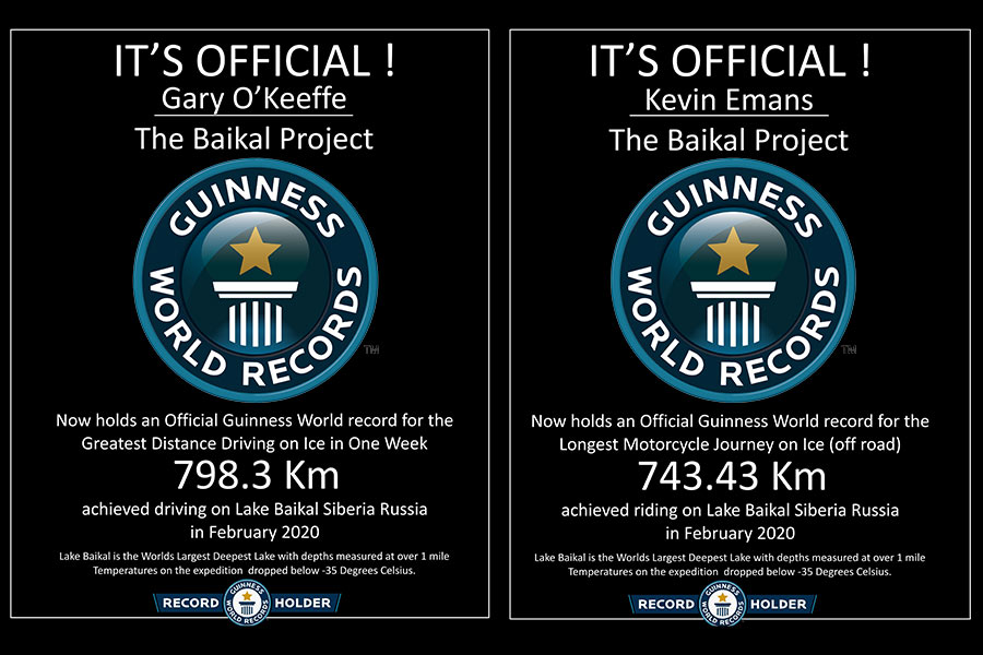 Guiness World Records for The Baka Project
